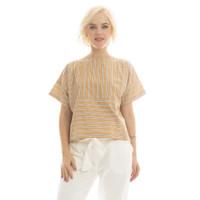 Stevie Stripes Blouse Beatrice Clothing - Blouse Wanita