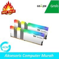 RAM TOUGHRAM RGB WHITE 16GB (2x8GB) 3600MHZ