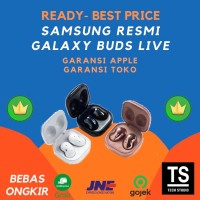 (RESMI) Samsung Galaxy Buds Bud Live Earbuds Noise Cancelation