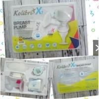 Breastpump Kolibri X1 Electric Pompa Asi TERBARU + BUBBLE FREE