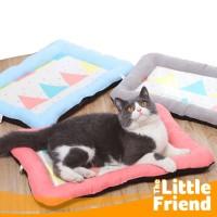Kasur Bantal Tempat Alas Tidur Anjing Kucing Anti Slip Motif Bendera