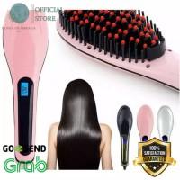 READY STOCK sisir elektrik pelurus rambut ion