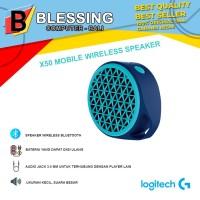 Speaker Logitech X50 Bluetooth Blue (980-001087)