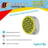 Speaker Logitech X50 Bluetooth Yellow (980-001064)