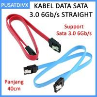 Kabel Data Sata 3.0 6Gpbs Straight Hdd Ssd Pc Laptop