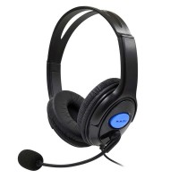 Headphone GAMING PS4 X-ONE with mic / headset gaming PS4 X-ONE - Hitam
