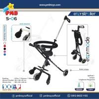 Ezzy Stroller S-06 (Hitam) PMB