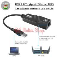 USB 3.0/USB3.0 to Gigabit Ethernet RJ45 Lan Adapter Network USB To Lan