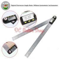 Digital Protractor Angle Ruler Goniometer Inclinometer Penggaris 300mm