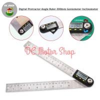 Digital Protractor Angle Ruler Goniometer Inclinometer Penggaris Bujur