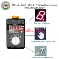 Portable Signal Generator Injector Digital 4-20mA 0-10V with Battery