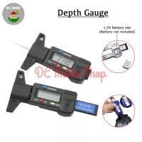 LCD Digital Wheel / Tire Tread Depth Gauge / Alat Ukur Kedalaman Ban