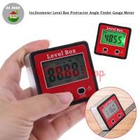 Inclinometer Digital Alat Ukur Sudut Kemiringan Slope Level Box Angle