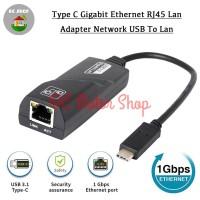Usb type c 3.1 to Gigabit Ethernet RJ45 Lan Adapter Network USB to Lan