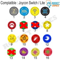 Nintendo Switch Joycon Thumb Grip / Analog Joycon / Silikon Cap Joycon