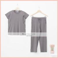 Lunaci Plain Graphite Cloud Pyjamas