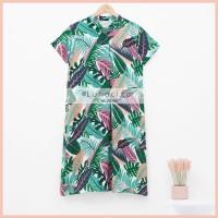 Lunaci Elm Green Home Dress