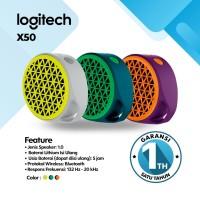 Logitech Speaker Bluethooth - Speaker Wireless X50 - Garansi Resmi 1th