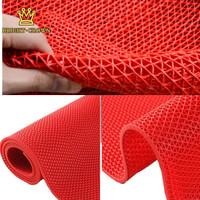 Keset Anti Slip, Keset Multiguna Untuk Kamar Mandi tebal 4.5mm 40X60cm - Merah