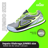 Sepatu Olahraga Kasogi Running SIZE BESAR !! Laki Perempuan K-808