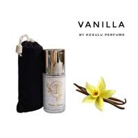 kokulu Parfum Unisex Untuk Aroma Vanilla Non Alkohol 20ml