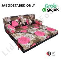 Sofa bed busa Inoac 120 x 200 x 20 Garansi 10th Jabodetabek Only