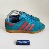 Sepatu adidas HAMBURG cw Manchester -Biru muda used