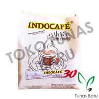 Indocafe White Instant Coffee (Serbuk Kopi Instan + Krimer Nabati)
