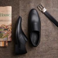 PAULMAY Sepatu Formal Pria Madrid 91 - Cokelat, 42