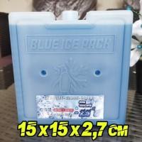 Agen Ice Pack Kotak Blue 15x15x2,7cm IcePack Pengganti Dry Ice
