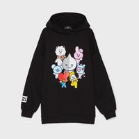 Jaket Hoodie Baby BT21 / Jaket BTS anak / Sweater BTS anak