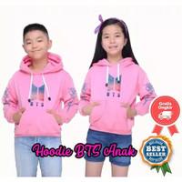 Jaket BTS anak / Hoodie BTS Korea anak 6-11 tahun / sweater BTS anak