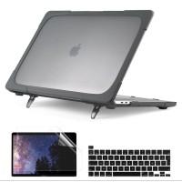 Batianda Hard Case with KickStand Macbook Pro 13 inch 2020 Matte Grey