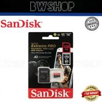 Sandisk Extreme Pro Microsd 128GB High Speed Class 10