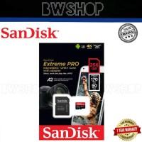 Sandisk Extreme Pro Microsd 256GB High Speed Class 10