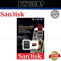 Sandisk Extreme Pro Microsd 32GB High Speed Class 10