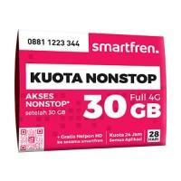 KARTU PERDANA NON STOP SMARTFREN 30 GB