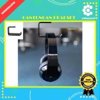 Headset Hanger Bracket Gantungan Headphone Earphone