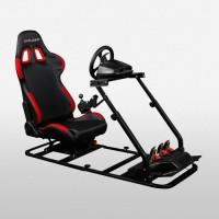 DXRacer Racing Simulator Series PS/ COMBO / 200 BLACK-FRAME BLACK RED