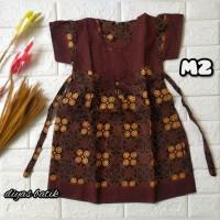 dress batik anak bahan katun murah 2