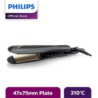 Philips Kerashine Straightener Ceramic Keratin - Hitam - HP8316/00