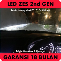 Headlamp LED E3 ZES H4 - Lebih Bagus dari C6H