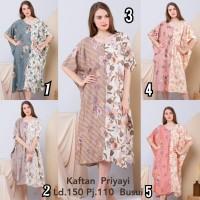 Daster Batik Jumbo / Big Size / Dress Kaftan / Bahan Premium