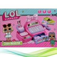Mainan Anak - LOL Surprise Cash Register Mesin Kasir Pita Pink