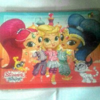 puzzle shimmer and shine