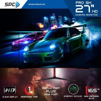LED Monitor Curve Gaming SPC Pro SM-27 Inch Full HD