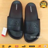 Sandal Slop Pria Flip Flop-Karet-Import-Full Black