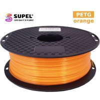 SUPEL Filament Filamen Tinta Printer 3D PETG 1.75 mm Orange | Oren