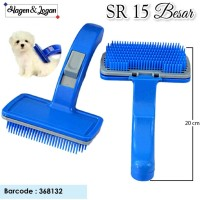 Sisir Self Cleaning - Hair Removal Brush sr15 BESAR