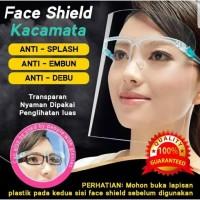Face Shield Kacamata Stylish Artis Nagita APD Medis